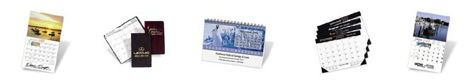 Personalized Customized Imprinted Calendars